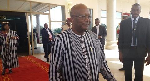 Roch Kaboré à propos de la Justice: «Les Magistrats ont fait du bon boulot en 2016»