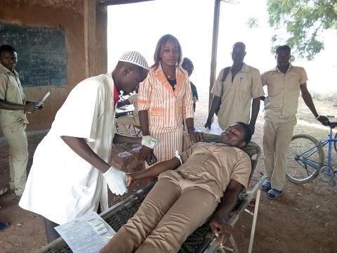 Collecte de sang: L'Association pour la Promotion de la Fille et de la Femme et le Développement local au Nayala s'implique