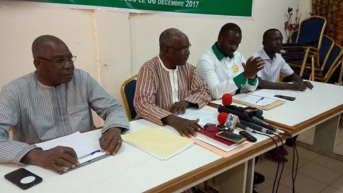 Politique au Burkina: Quatre partis lancent l'Union pour la Démocratie et le Progrès (UDP)