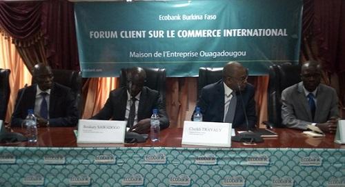 Transactions commerciales: Ecobank Burkina présente les produits du commerce international à sa clientèle