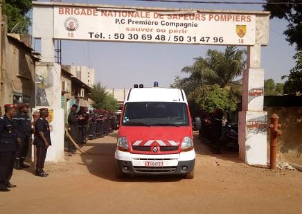 9e compagnie d'incendie et de secours: 17 hommes de feu s'engagent à servir la population de Koupéla en attendant le renfort