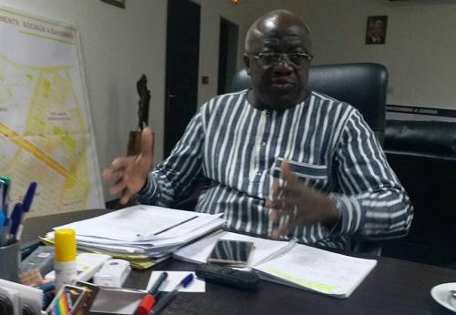 Urbanisation et habitat au Burkina: Le ministre  Dieudonné Maurice Bonanet fait le point de la politique étatique