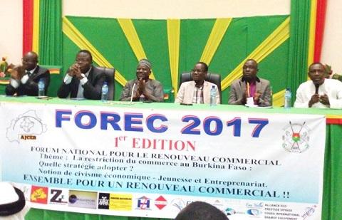 Relance économique au Burkina: L'AJCEB lance des réflexions pour un renouveau commercial