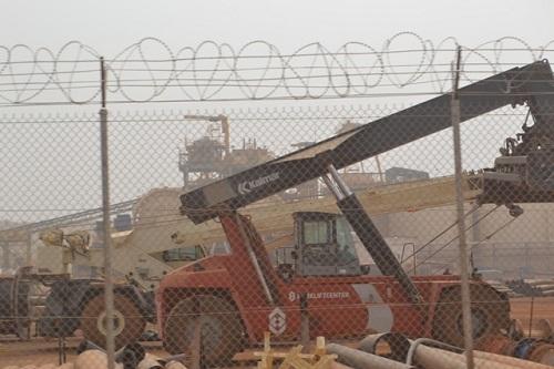 Mine d'or de Houndé: Environ 6 à 8 tonnes attendues chaque année