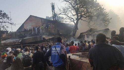 Grand marché de Bamako: Un violent incendie cause des dégâts matériels inestimables
