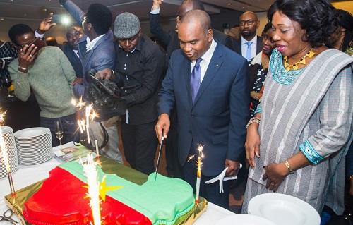 57è anniversaire de l'indépendance: Depuis Bruxelles, Alpha Barry souhaite une «très bonne fête» de l'indépendance à la diaspora