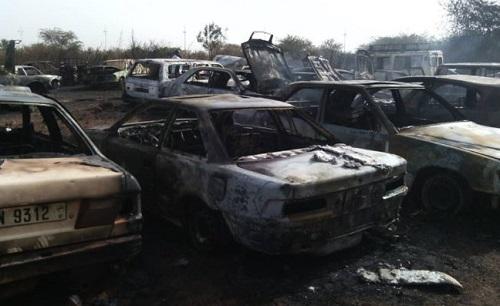Incendie à la Cour d'Appel de Ouagadougou: Et si l'on débarrassait les services publics de leurs herbes