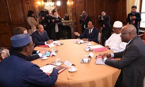 Réunion de soutien au G5 Sahel à Paris: Des financements majeurs annoncés