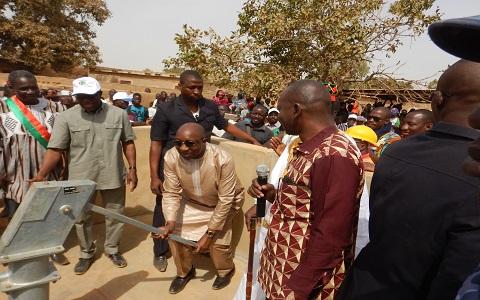 Programme d'urgence du gouvernement: Le Premier ministre Paul Kaba Thiéba a visité des sites