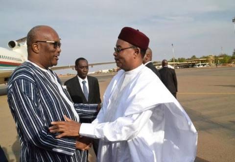 Le Président du Faso à la célébration du 59ème anniversaire de la proclamation de la République du Niger