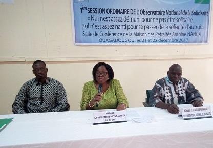 Observatoire national de la solidarité: Construire une société de justice sociale, de solidarité et de participation