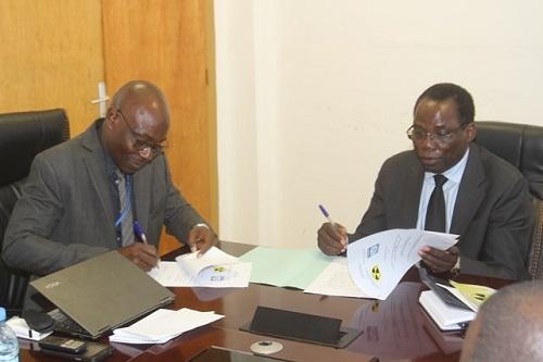 Direction générale de la Douane: Signature d'un protocole d'accord avec l'ARSN