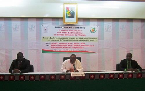 CASEM du ministère de l'Energie: Le département  examine son rapport d'activités