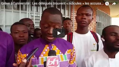 Grève à l'université: Les délégués trouvent «ridicules» les accusations lancées par l'ANEB