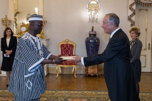 Burkina Faso-Portugal: Alain Francis Gustave Ilboudo a présenté ses lettres de créance