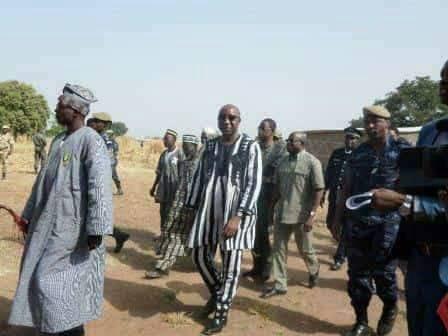 Frontière Burkina-Bénin: Paul Kaba Thiéba dans le village litigieux de Koualou