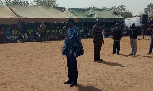 Quartiers non-lotis de Ouagadougou: Le Président de l'Assemblée nationale s'imprègne des réalités de Toudoubwéogo