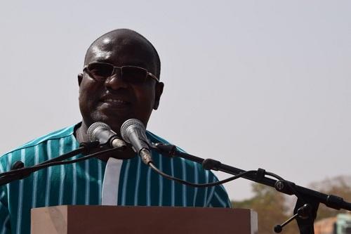 Eric Bougouma, ministre des infrastructures: «2020 est dans la poche»