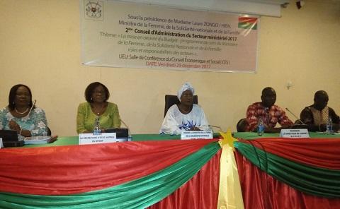 Conseil d'administration du ministère en charge de la Femme: Rôles et responsabilités des acteurs dans la mise en œuvre du budget-programme