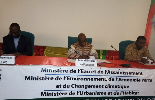 Eau et assainissement au Burkina: Le ministère en charge procède à la validation du document de sa politique sectorielle