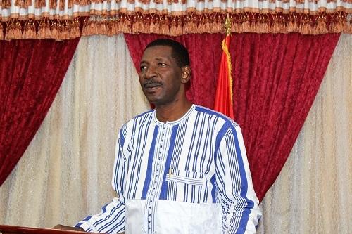 Assemblée nationale: Voici les vœux du président Alassane Bala Sakandé