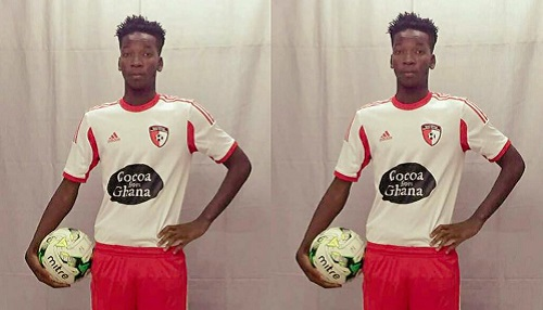 Football: Cheick Oumar Ouédraogo, un talent méconnu du public sportif burkinabè