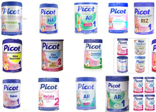 Alerte: Du lait et de la farine infantiles Picot retirés du marché pour risques de contagion