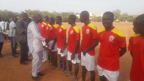10 ans de Coris Bank International: C'est parti pour le tournoi de football inter écoles professionnelles