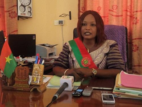 «Nous demandons à chacun de mettre la propreté devant sa porte», Rasmata Nadembèga, maire de l'Arrondissement n°12 de Ouagadougou