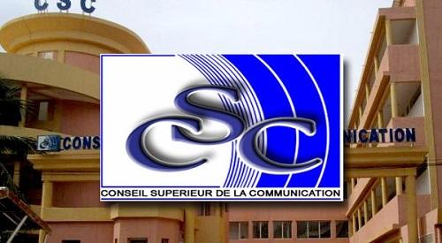 Conseil Supérieur de la Communication: Radio Optima auditionnée