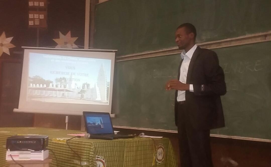 Université Ouaga 1 Pr Joseph Ki-Zerbo: Moussa Ouédraogo, nouveau Docteur en Chimie des matériaux