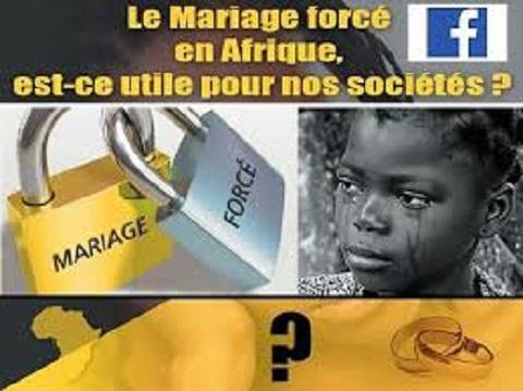 Violences faites aux femmes: Halte au mariage d'enfants!