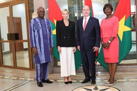 Coopération Burkina – Monaco: Le Prince Albert II reçu par le Président du Faso