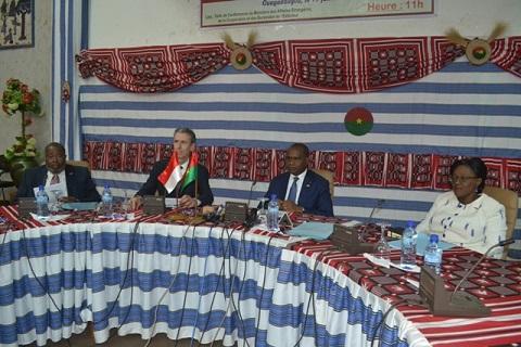 Burkina-Monaco: La commission bilatérale se félicite de l'excellence de la coopération