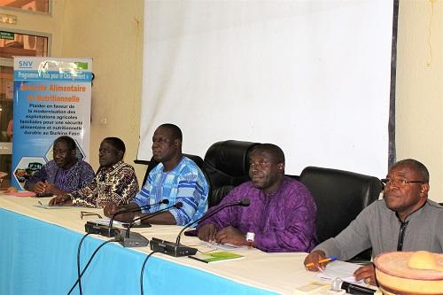 Sécurité alimentaire et nutritionnelle: Des OSC s'engagent en signant une charte partenariale