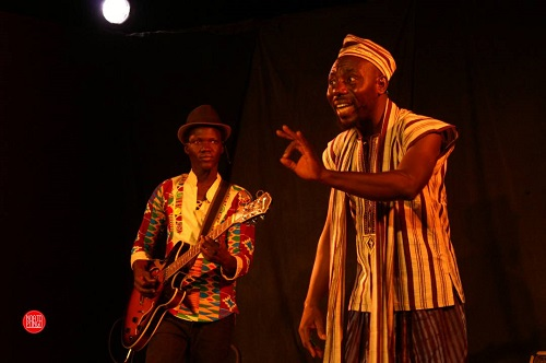 «Nous, Africains, on se réveille toujours tard. C'est vraiment dommage», déplore Wilfrid Ouédraogo, conteur professionnel burkinabè