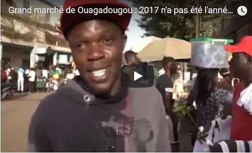 Grand marché de Ouagadougou: 2017 n'a pas été l'année des commerçants?