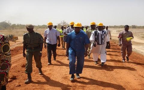 Barrage de Tanvi Nakamtenga (Koubri): Bientôt la fin des travaux de réhabilitation