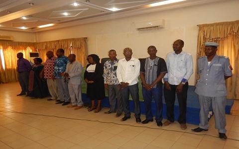 Ministère de la Justice: Les membres du Comité anti-corruption/justice et droits humains (CAC/JDH), officiellement installés