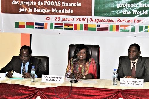 Santé: L'OOAS passe en revue ses projets financés par la Banque mondiale