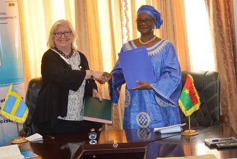 Coopération Burkina Faso-Suède: 102 milliards de francs CFA pour soutenir les efforts de développement du Burkina