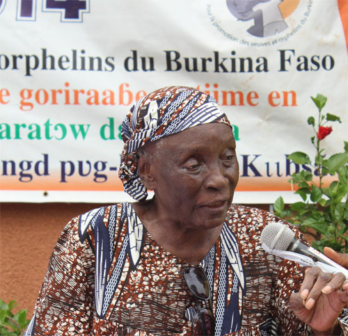 Décès de KABORE/TRAORE Ouo Lucie Thérèse Bernadette: Faire-programme