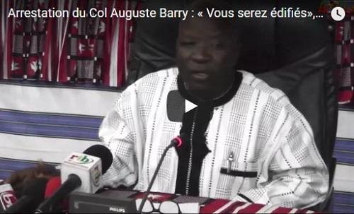 Arrestation du Col Auguste Barry: «Vous serez édifiés», promet Simon Compaoré