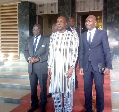Premier ministère: Paul Kaba Thiéba reçoit une délégation du Groupe de la Banque mondiale
