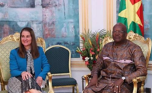 Burkina Faso: La Fondation Bill et Melinda GATES annonce une aide de plus de 23 milliards de FCFA