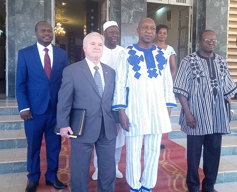 Rectificatif de l'UCF-Burkina, unité en charge de la formulation du second compact du MCC