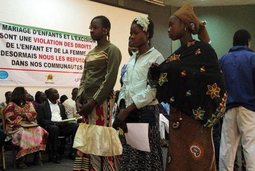 Mariage d'enfants et excision: Les populations du Sahel se sont engagées à abandonner ces pratiques néfastes