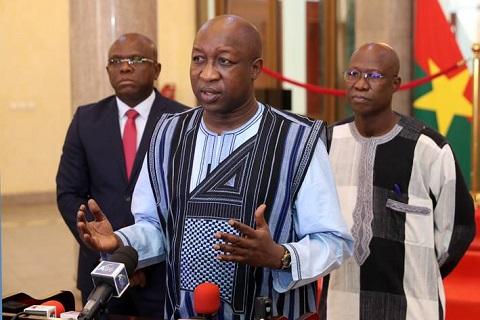 «Il faut que nous nous donnions la main dans la main, malgré nos différences …», appel de Paul Kaba Thiéba aux Burkinabè
