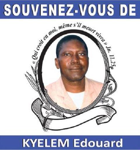 In memoria: KYELEM Edouard