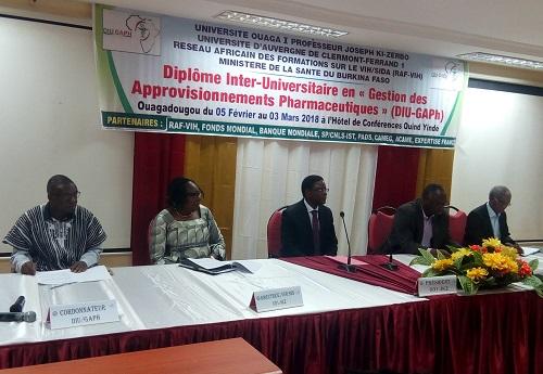 Des pharmaciens africains à l'assaut du DIU-GAPh de l'Université Ouaga I Pr Joseph KI-ZERBO
